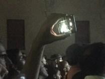 Gli smartphones ai concerti