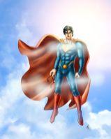 Copertina del libro SUPER - Ottant'anni del primo supereroe: da Nembo Kid a Superman di Filippo Rossi
