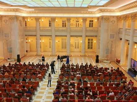 CHIARA TAIGI - Successo del Pubblico e della Critica - Concerto Omaggio a Renata Tebaldi - San Pietroburgo - Russia - 02 Novembre 2019