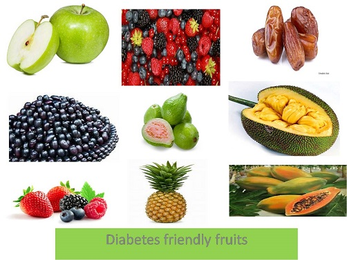 Diabetes friendly fruits