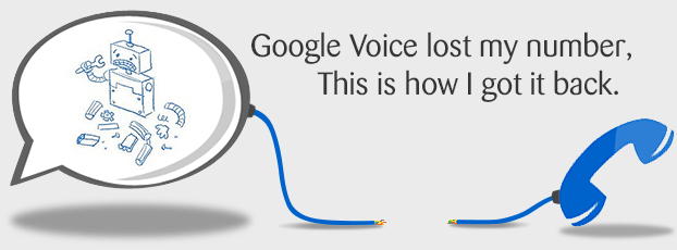 Google Voice Lost My Number Header Image