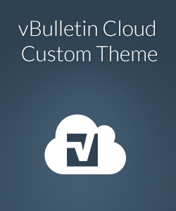 vBulletin Cloud Custom Theme