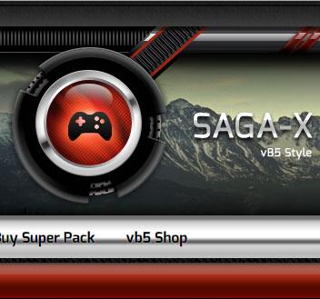 sagascreen logo - Saga-X and Saga-X Blue released