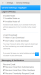 settings - vb4 responsive style is now released