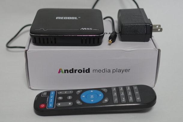 TV Box MECOOL M8S Pro 付属品