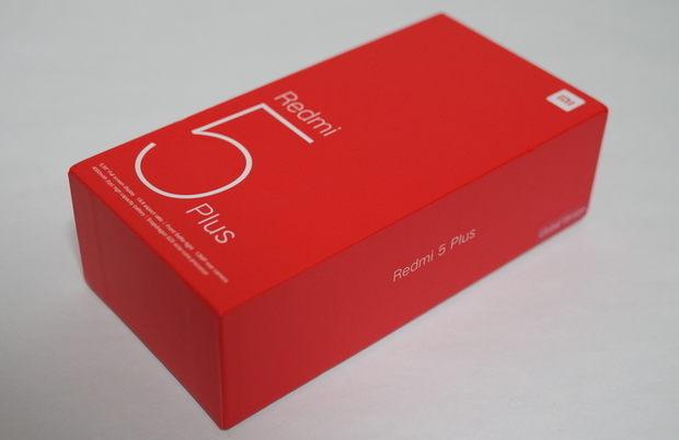 Xiaomi Redmi 5 Plus 外箱