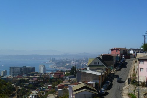 View of beautiful Valparaiso, Chile