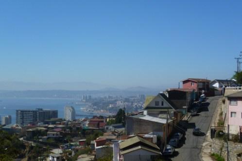 View of beautiful Valparaiso, Chile
