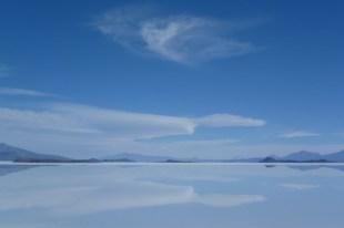 The impressive Uyuni Salt Flat in Bolivia
