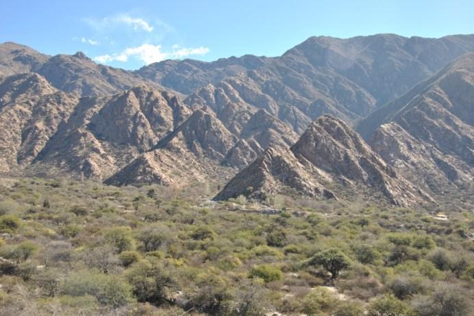 Landscape in the Calchaqui Valleys, near Cafayate - Salta