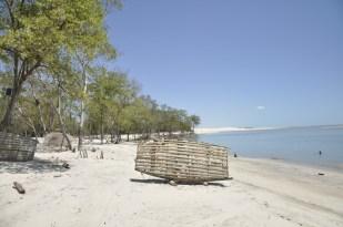 Unspoiled beach in Tatajuba, on the Ceara coast, Brazil