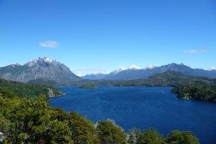 Beautiful landscapes near Bariloche, Patagonia Argentina
