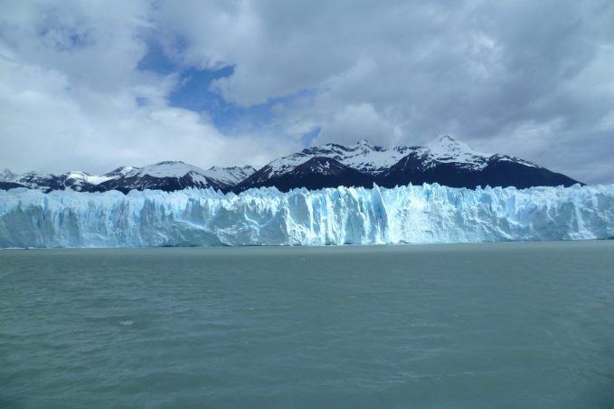 Navigation to approach the Perito Moreno Glacier, near El Calafate, Patagonia Argentina