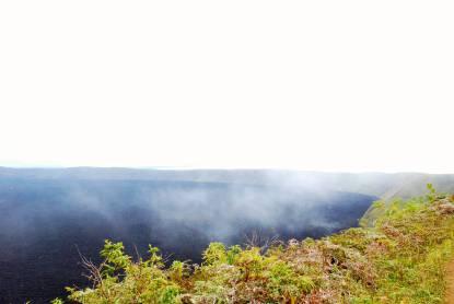 Sierra Negra volcano in the Galapagos Islands, Ecuador tour