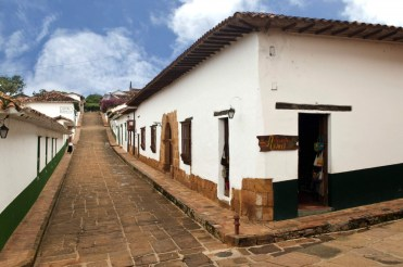 Colonial architecture in charming Barichara