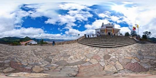 Fallen Lord Sanctuary in Monserrate, Bogota