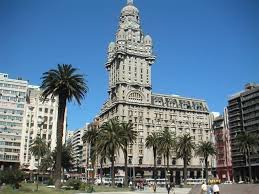 During a city tour of Montevideo, Uruguay