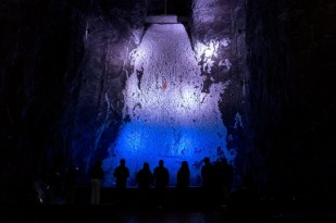 The Salt Cathedral in Zipaquira, Colombia