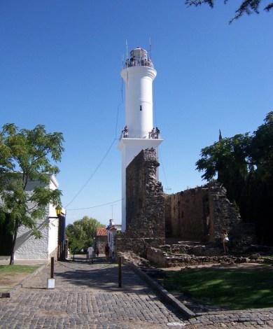 The cobbled streets of Colonia del Sacramento, Uruguay