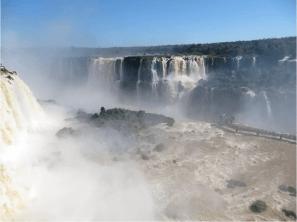 The Amazing Iguazu Falls. Photo credit: Nuno Torres