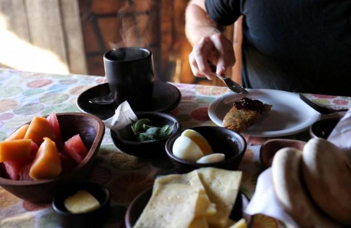 Breakfast in the Ruka