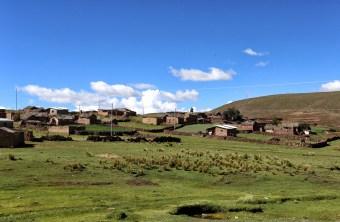 The village of Chunu Chununi in Bolivia