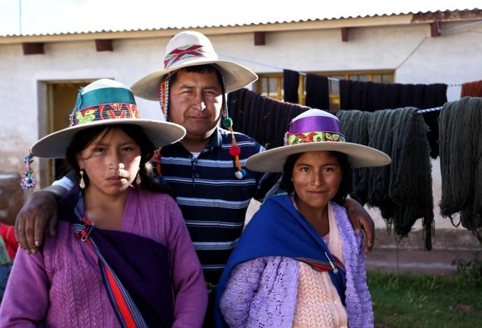 Our host family in Chunu Chunuchi, Bolivia