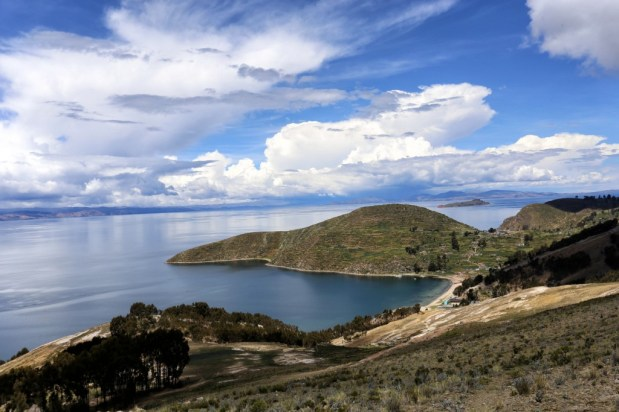 Another corner of the Sun Island, another beautiful little bay, Lake Titicaca