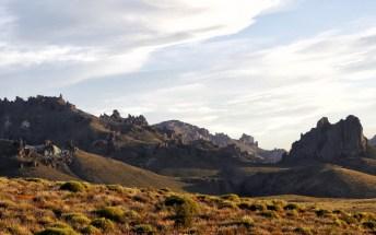 Beautiful Patagonian landscape