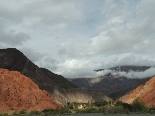 Striking scenery of the rural Yungas area in Argentina