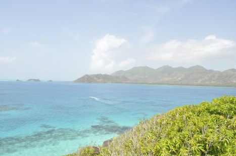 The Caribbean Sea between Crab Cay and Providencia Island, Colombia