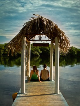 Time to relax and enjoy the tranquil surroundings in Los Tuxtlas, Veracruz, Mexico