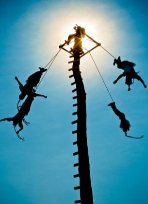 Where men become eagles - Papantla Flyers in Tajin, Veracruz, Mexico