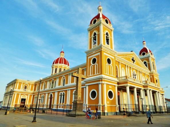 The mezmerizing Granada Cathedral, Nicaragua