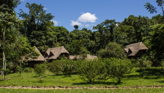Manu Learning Centre lodge in the Amazon in Peru