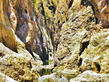 Somoto Canyon, a stone's throw from Honduras, northern Nicaragua