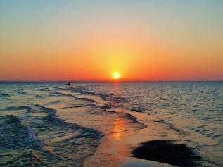 Sunset at punto Jesus Maria, Ometepe Island, Lake Nicaragua