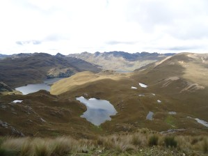 Cajas National Park, a place with hundreds of lakes, Ecuador