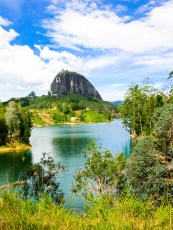 A view of the incredible Peñol de Guatape, Colombia