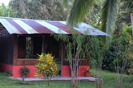 One of the accommodations for travellers visiting Juanilama, rural tourism in Costa Rica