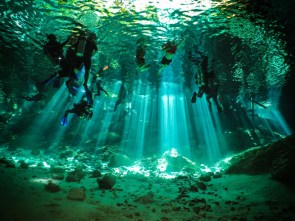 Unbelievable Casa cenote scuba diving and snorkelling experience, in Mexico