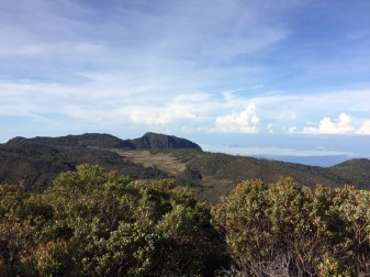 View of the Valley of the Lions, a spectacular part of the hike between San Jeronimo and Los Crestones in Costa Rica