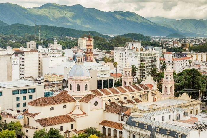 The charming city of Salta, in Northwest Argentina