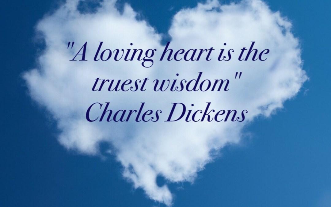 A loving heart…