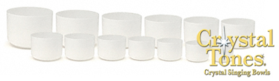 Crystal Tones Classic Frosted Bowls