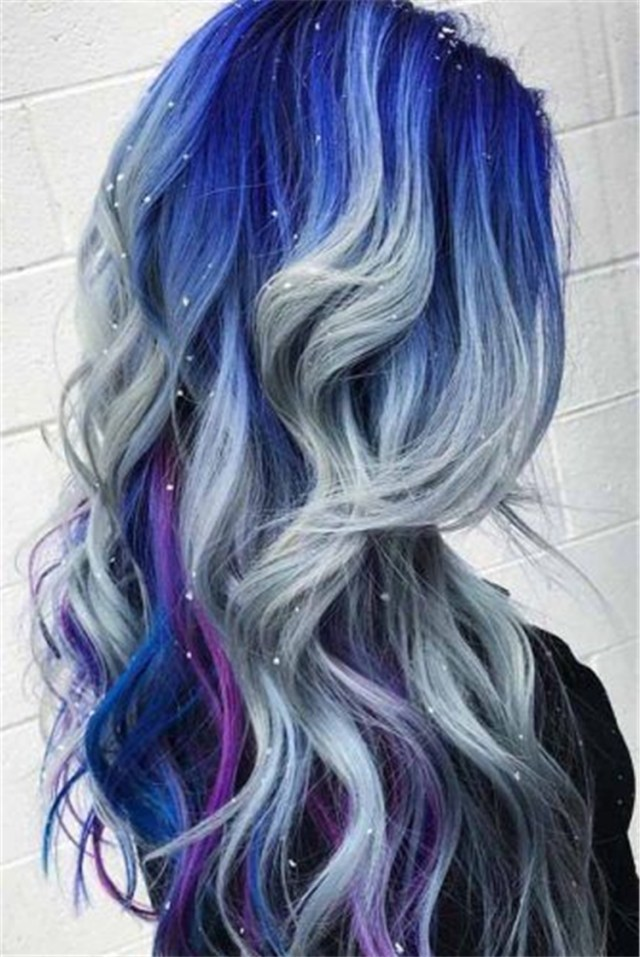 33 blue ombre hair color trend in 2019 sumcoco