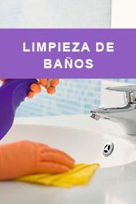 Productos limpieza de baños