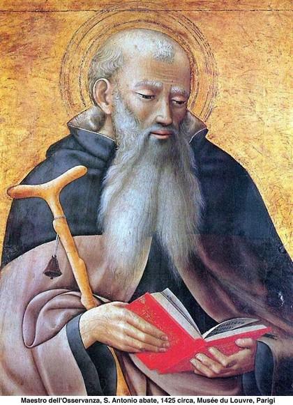 Santo di oggi sant antonio abate 17 gennaio alla for Arredo bimbo sant antonio abate