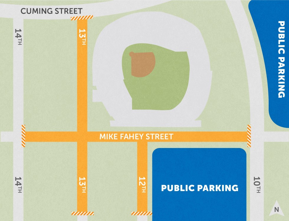 Summer Arts Festival 2020 Directions & Parking | Omaha Summer Arts Festival