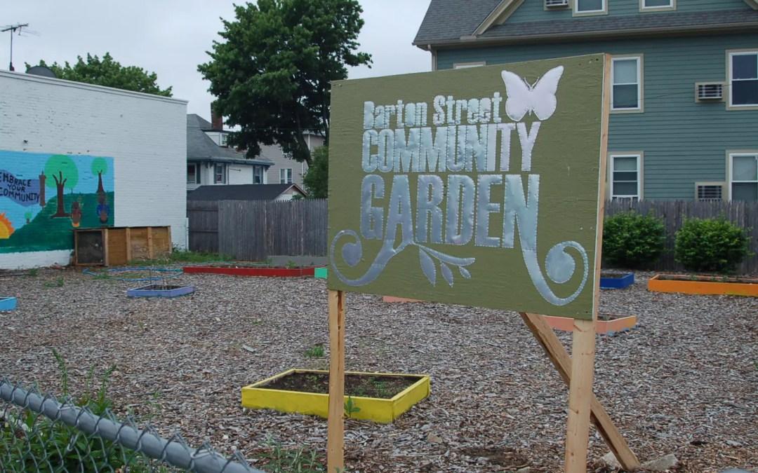 The Garden sign